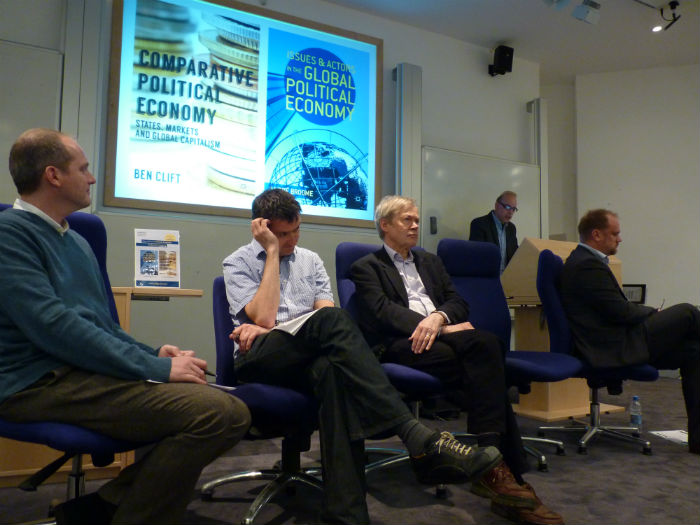 Image of André Broome and Ben Clift launching major new politics textbooks