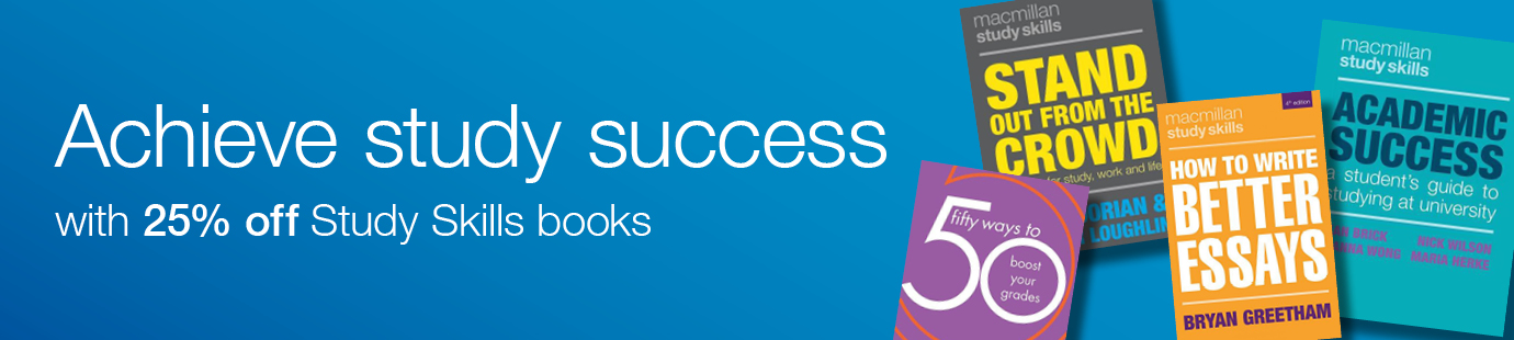 Achieve Study Success with 25% off Study Skills books