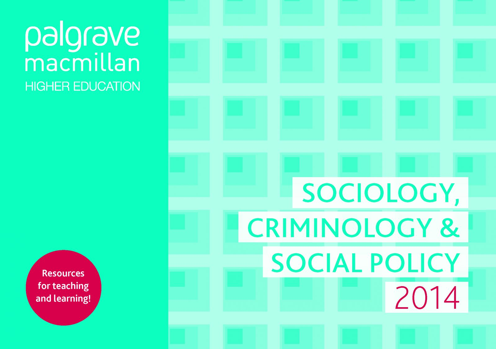 Sociology-Social-Policy-Criminology
