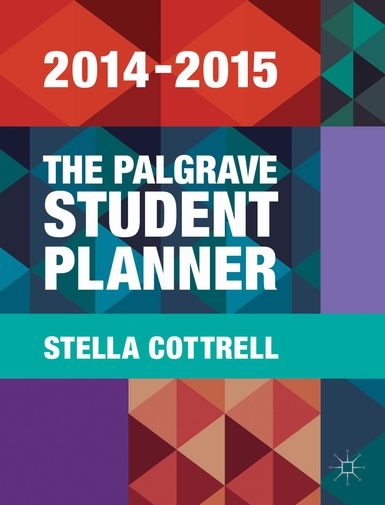 Customised editions of the Palgrave Student Planner